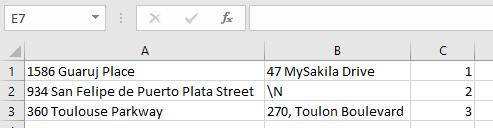 Format MySQL export data